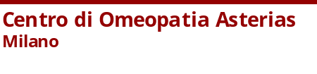 Centro di Omeopatia Asterias Milano Logo